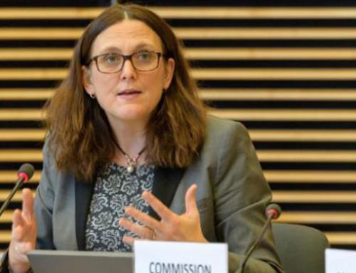 Scattano i dazi USA sui prodotti europei: la dichiarazione della Commissaria per il Commercio Cecilia Malmström