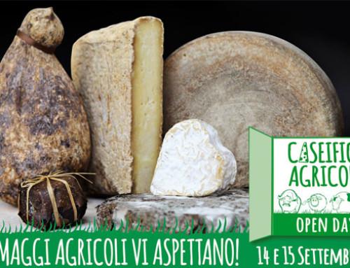 Il14 e 15 settembre torna l'Open Day Caseifici Agricoli