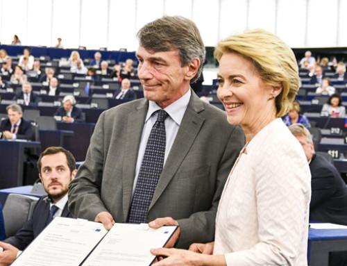 Il Parlamento elegge Ursula von der Leyen Presidente della Commissione