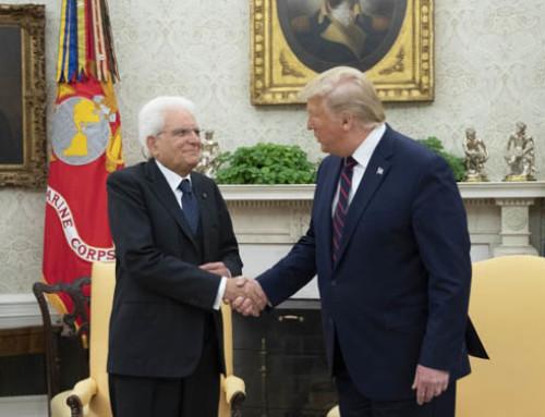 Incontro Trump-Mattarella: leggera apertura del Presidente USA sui dazi. La NMPF chiede a Trump di non schierarsi con l'Italia