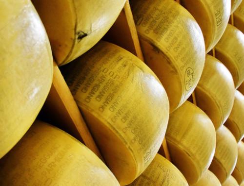 I nomi del formaggio Grana