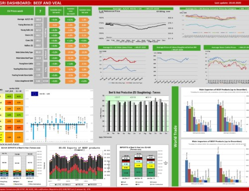 Dg agri dashboard: meat and veal – European Meat Market Observatory – 20 febbraio
