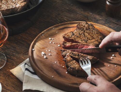 Il buon sapore della carne bovina