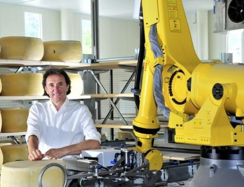 Inaugurato il nuovo magazzino robotizzato di Brazzale, per il Gran Moravia